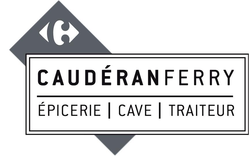 logo carrefour market cauderan ferry